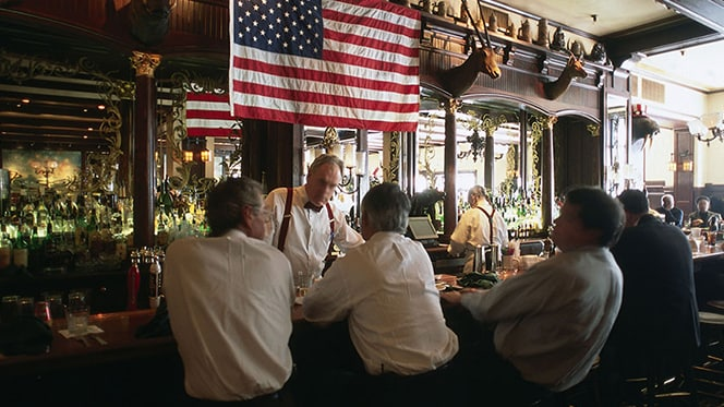 Old Ebbitt Grill in Washington DC